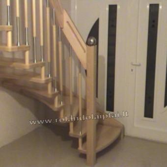 Laiptų gamyba ir projektavimas / UAB Wood Step / Darbų pavyzdys ID 197901