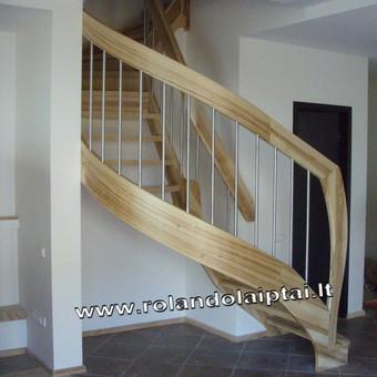 Laiptų gamyba ir projektavimas / UAB Wood Step / Darbų pavyzdys ID 197903