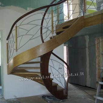 Laiptų gamyba ir projektavimas / UAB Wood Step / Darbų pavyzdys ID 197905