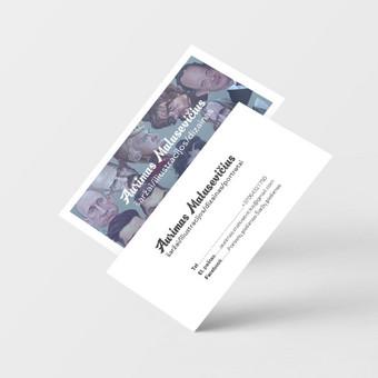 Vizitiės kortelės dizainas