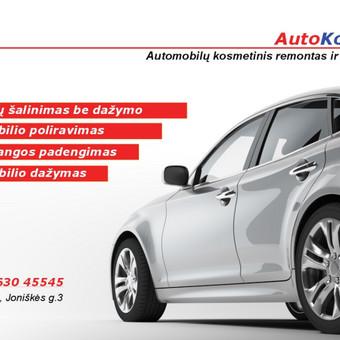 AutoKorega - automobiliū kosmetinis remontas ir priežiūra