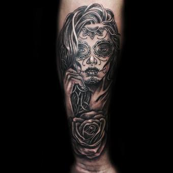 Tatuiruotės, tatuiruočių salonas / Vestina Jocaitytė / Darbų pavyzdys ID 199443