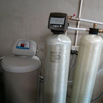 Minkštinimo vožtuvas Ecowater, nugeležinimo vožtuvas Pentair Autotrol