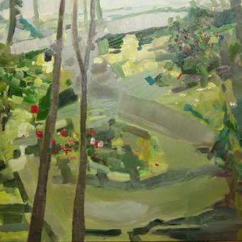 """Poetės sodas"" 60 x 77 al.dr. Parduodamas"
