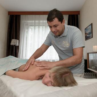 Masažo paslaugos, patyręs masažo meistras Vilniuje / Ilja Berlin / Darbų pavyzdys ID 200861