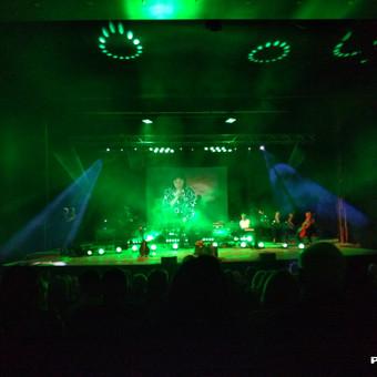 Dambrausko koncertinio turo apšvietimas ir įgarsinimas.