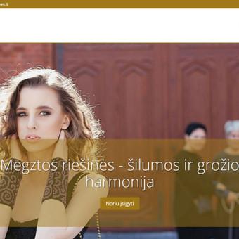Interneto svetainių, elektroninių parduotuvių kūrimas / Kristina / Darbų pavyzdys ID 201789