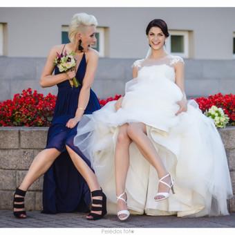 Su liudininke / Greta ir Gytis (vestuvių fotografija)