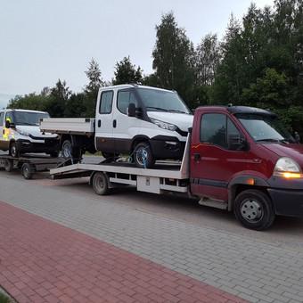 Techninė pagalba kelyje / Techninė pagalba Klaipėda / Darbų pavyzdys ID 202637