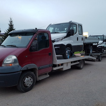 Techninė pagalba kelyje / Techninė pagalba Klaipėda / Darbų pavyzdys ID 202639