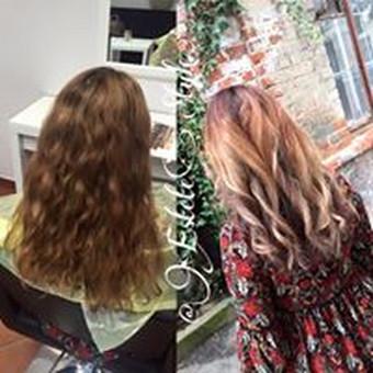 Kirpėjas, meistras, plaukų stilistas / Estetestyle Hairmakeup / Darbų pavyzdys ID 202927