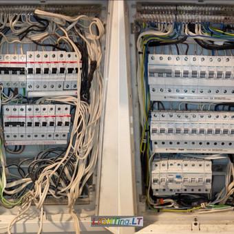 Biurų elektros skydo rekonstrukcija įmonės veiklai užtikrinti
