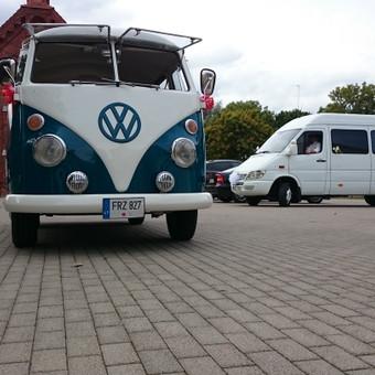 VW Transporter T1  autobusiukas, 1965m, 9-vietis, tinka vestuvėms, mergvakariams, ekskursijoms.