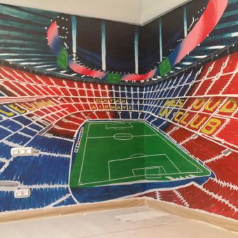 Sienų tapyba, grafika. Piesiniai ant sienu / Julija Janiulienė / Darbų pavyzdys ID 204675