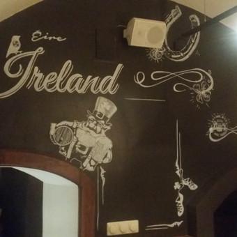 Sienų tapyba, grafika Piesiniai ant sienu Sienu dekoravimas / Julija Janiulienė / Darbų pavyzdys ID 204703