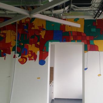 Sienų tapyba, grafika. Piesiniai ant sienu / Julija Janiulienė / Darbų pavyzdys ID 204705