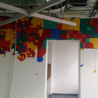 Sienų tapyba, grafika Piesiniai ant sienu Sienu dekoravimas / Julija Janiulienė / Darbų pavyzdys ID 204705