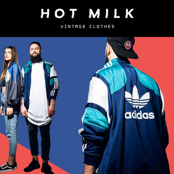 HOT MILK Vintage Clothes logotipas