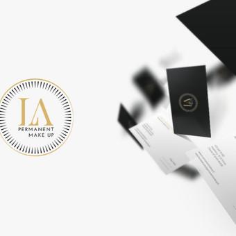Logotipas, vizitinė kortelė | Permanentinio makiažo meistrė