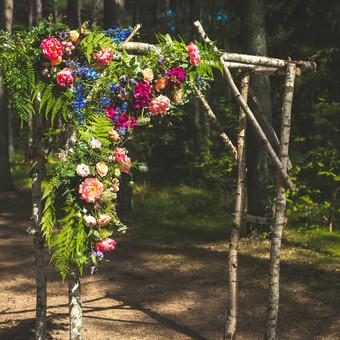Vestuvinė floristika / Arina / Darbų pavyzdys ID 209845