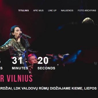 Mid Summer Vilnius svetainės kūrimas (daugiau darbų www.tackis.lt)