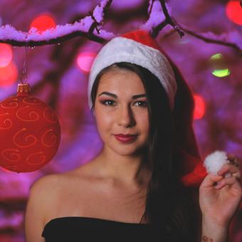 Kalėdinė fotosesija.