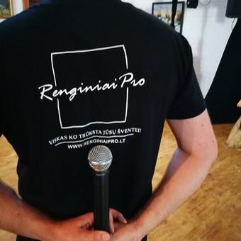 www.renginiaipro.lt - renginių techninis aptarnavimas.