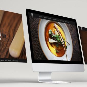 Internetinės svetainės dizainas MomoGrill restobarui