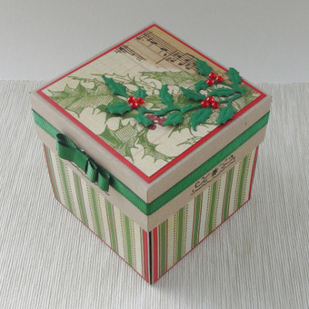 Sveikinimas dėžutėje (Kalėdinis)