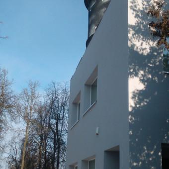 Fasado šiltinimas ir tinkavimas dekoratyviniu tinku