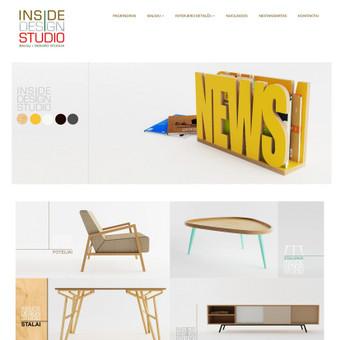 Inside design studio - dizaino studija