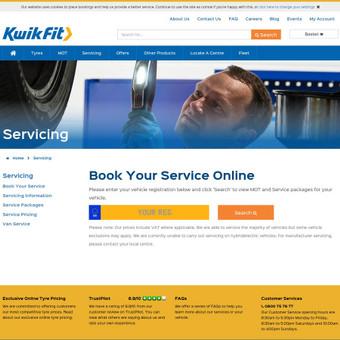 Kwik fit automobilių servisas įsikūręs Londone