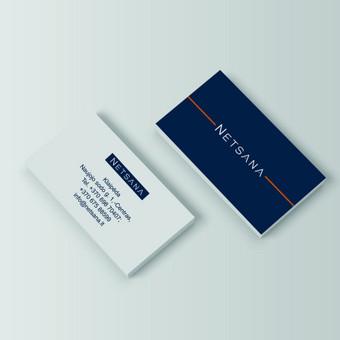 Netsana vizitinė kortelė
