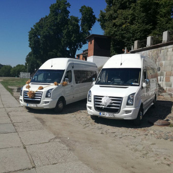 """Mikroautobusų nuoma su vairuotoju įvairioms progoms / UAB """"Balti mikroautobusai"""" / Darbų pavyzdys ID 215271"""