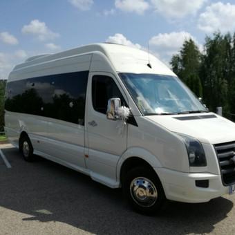 """Mikroautobusų nuoma su vairuotoju įvairioms progoms / UAB """"Balti mikroautobusai"""" / Darbų pavyzdys ID 215273"""