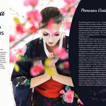 Geisha maketas spaudai - 1 puslapis