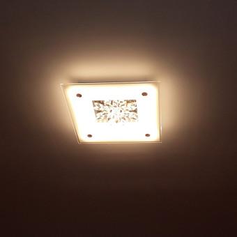 Vidaus patalpų šviestuvų montavimas.