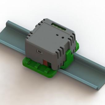 Apšvietimo valdymo elektronikos korpusas. Sukurtas pagal dizainą. Gamybos būdas - liejimas.