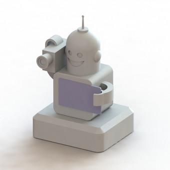 Statulėlė apdovanojimams. Sukurta pagal paveikslėlį. Gamybos būdas - 3D spausdinimas.