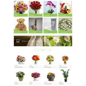 Gėlių parduotuvė - Gardenijos Žiedai www.gardenijosziedai.lt