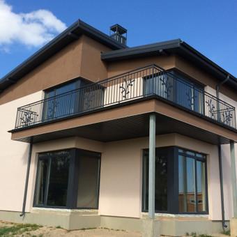 Individualių namų statyba.Karkasinių namų statyba. / Remigijus Valys / Darbų pavyzdys ID 218629