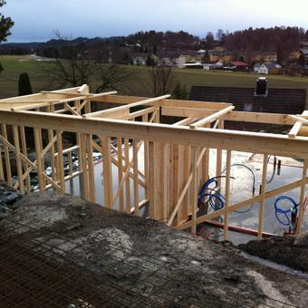 Individualių namų statyba.Karkasinių namų statyba. / Remigijus Valys / Darbų pavyzdys ID 218647