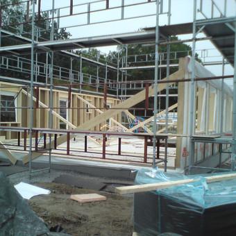 Individualių namų statyba.Karkasinių namų statyba. / Remigijus Valys / Darbų pavyzdys ID 218651