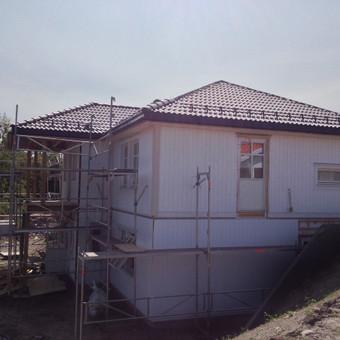 Individualių namų statyba.Karkasinių namų statyba. / Remigijus Valys / Darbų pavyzdys ID 218655