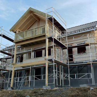 Individualių namų statyba.Karkasinių namų statyba. / Remigijus Valys / Darbų pavyzdys ID 218677