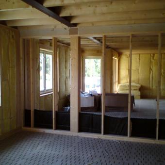 Individualių namų statyba.Karkasinių namų statyba. / Remigijus Valys / Darbų pavyzdys ID 218685