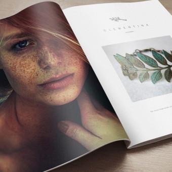 Žurnalo puslapio maketas