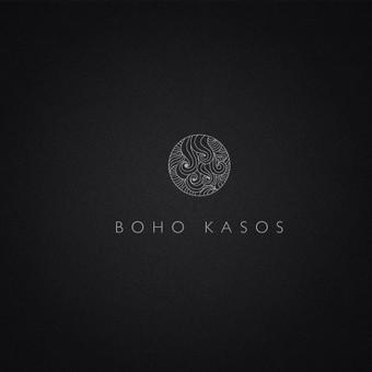 Logotipas kirpyklai BOHO KASOS