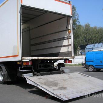 Krovinių pervežimas / Povilas / Darbų pavyzdys ID 220163