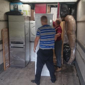 Krovinių pervežimas / Povilas / Darbų pavyzdys ID 220175